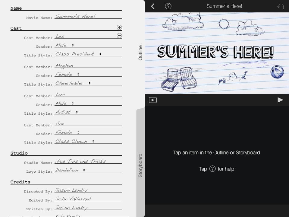 Keep Students Engaged: Try iMovie! | Burlington High School Help Desk