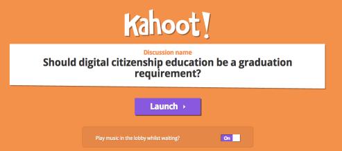 how to start a kahoot