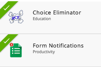 Eliminate choices in forms & customize form notifications