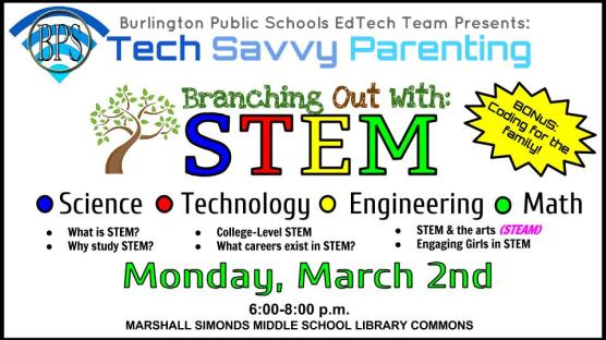 Tech Savvy Parenting-Branching Out STEM to STEAM (1)