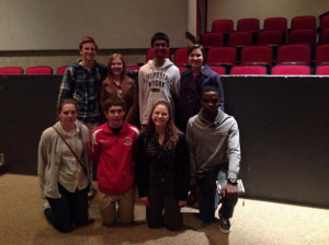Students from Campbell High School in Litchfield, NH attended the NE 1:! Summit