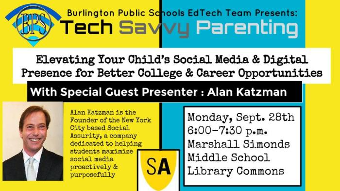 Elevating Your Child's Social Media & Digital Presence for Better College & Career Opportunities