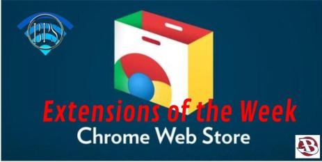Google Extensions of the Week